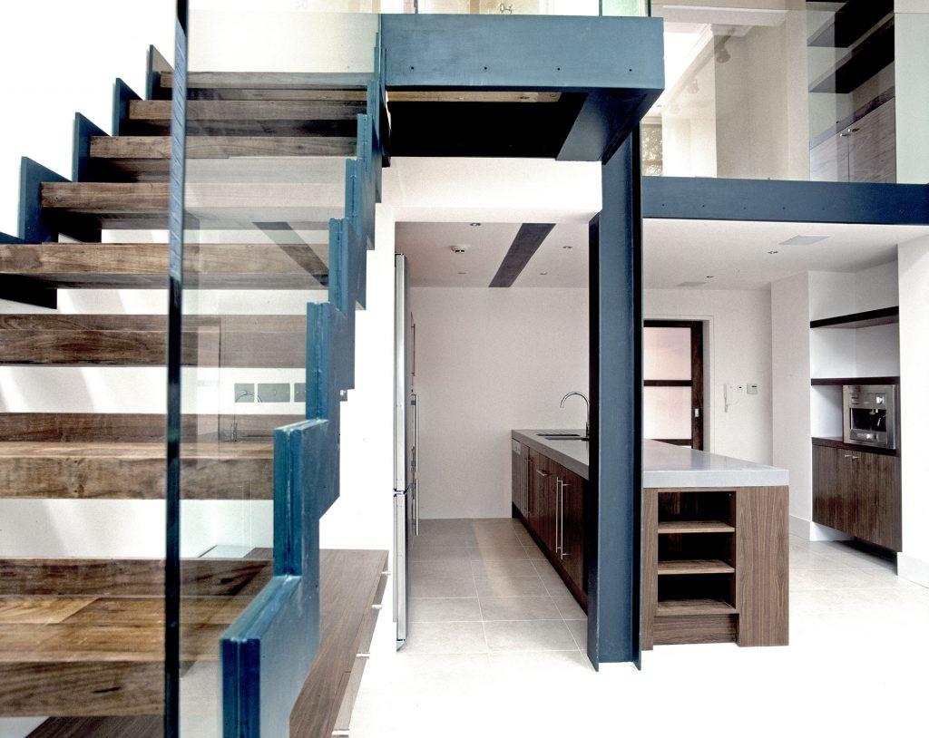 Denbigh Terrace stairs
