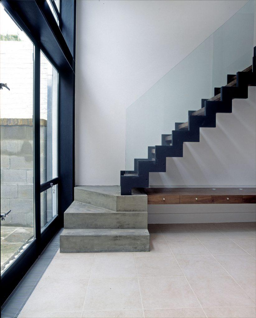 Denbigh Terrace stairs 2